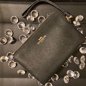 Coach small wristlet wallet